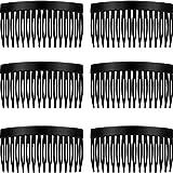 6 Stücke Haar Kämmchen Rutschen Schildkröte Glatte Haar Kamm Glatt Seiten Haar Kamm 8,5 cm Haar Seiten Kamm Satz