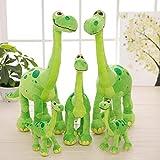 Unisex Grün Kuscheltier Plüschtier,Stofftier Plüsch Puppe Spielzeug Weihnachten Baby Spielzeug und Plüschtier, gute Dinosaurier für Kinder Weihnachtsgeschenke 35cm/50cm