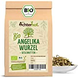 Angelikawurzel BIO (250g) geschnitten Engelwurz Angelikawurzeltee Angelica Archangelica Roots organic vom-Achterhof