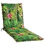 Liegenauflage Polsterauflage Gartenauflage | Mehrfarbig | 60 x 190 cm | Baumwolle | Polyester