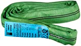 Braun 20021RS Rundschlinge 2000 kg Tragkraft, 2 m Umfang, endlos mit Polyesterkern, grün