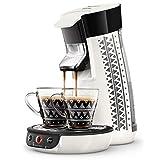 Philips HD6569/14 Kaffeepadmaschine Senseo Viva Café Ethnic weiß + 2 Tassen Ethnic gratis