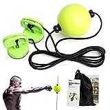 DMAR Vakuum-Chuck Boxing Reflex Ball, Fokusboxsäcke Boxen Training, Speed Ball auf Einer Schnur, Trainingsgerät Speedball für Boxtraining Zuhause und Outdoor