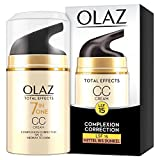 Olaz Total Effects Anti-Aging 7-in-1 Complexion Correction CC Tagescreme Mittlere Bis Dunkle Hauttypen 50 ml