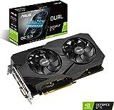 ASUS NVIDIA GeForce GTX 1660 DUAL OC 6G EVO Gaming Grafikkarte (PCIe 3.0, 6GB DDR5 Speicher, HDMI, Displayport)
