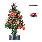 PEARL Mini Weihnachtsbaum: USB-Weihnachtsbaum mit LED-Farbwechsel-Glasfaserlichtern (Weihnachtsbaum fürs Auto)