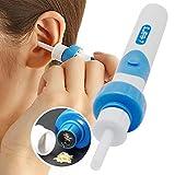 Ohrenreiniger, Ohrwachsentferner, Ohrenschmalz Entferner, Ear Wax Cleaner, Ohrwachs Entfernungs, Ohr Schmalz Reiniger mit 2 entfernbaren Silikon Aufsatzen, Babies, Jugendliche, Erwachsene