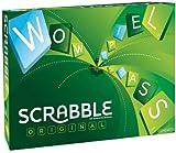 Mattel Games Y9598 - Scrabble Original Wörterspiel und Brettspiel geeignet für 2 - 4 Spieler, Familienspiele und Wortspiele ab 10 Jahren