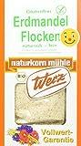 Werz Erdmandel-Flocken glutenfrei 2er Pack (2 x 250 g Packung) - Bio