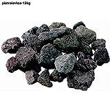 LordsWorld - Lava Stone - 15Kg Lavastein Für Grill, Sauna und Aquarium Dekoration - Lavagestein Für Grill und Gasherde - Pietralavica-15kg