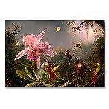Premium Textil-Leinwand 90 x 60 cm Quer-Format Elfenlied   Wandbild, HD-Bild auf Keilrahmen, Fertigbild auf hochwertigem Vlies, Leinwanddruck von Yvonne Pfeifer