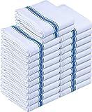 Utopia Towels - 24er Geschirrtuch Küchentücher aus Baumwolle, 38 x 64 cm (Blau) (Blau, 24er Pack)