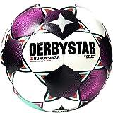 Derbystar Unisex Jugend Bundesliga Brillant Replica S-Light Fußball, Weiss Magenta Mint, 4