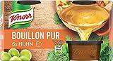 Knorr Bouillon Pur (für den vollmundigen Geschmack Huhn), 1er Pack (1 x 168 g)