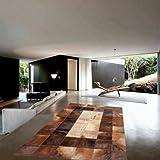 Vip-leather NEU KUHFELL Patchwork Teppich Cod 440 (120 cm x 180 cm)