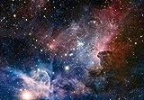 1art1 Der Weltraum - Sternengeburt Im Carinanebel, 3-Teilig Fototapete Poster-Tapete 360 x 250 cm