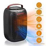 Heizlüfter NASUM 3 Heizstufe 950W PTC Keramik tragbar Elektrische Heizung Überhitzungsschutz  Ohne Feuer  geeignet für Schlafzimmer, Büro, Badenzimmer