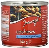 Jeden Tag Cashew- Kerne gesalzen, 150 g
