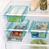 GOURMETmaxx Klemm-Schublade für Kühlschrank, 3er-Set   20,5 x 15 x 7cm, einfach mit Klemm-Mechanismus einzuhängen, für nahezu jeden Kühlschrank