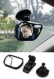 Rücksitzspiegel Spiegel-Auto-Baby, Rückspiegel Baby Shatterproof Car Rückspiegel kompatibel mit meisten Auto 360° schwenkbar für Baby Kinderbeobachtung