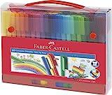 Faber-Castell 155560 Filzstift Connector, im Koffer, 60-teilig, 1 Stück