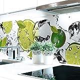 Küchenrückwand Limetten Eiswasser Premium Hart-PVC 0,4 mm selbstklebend 220x60cm
