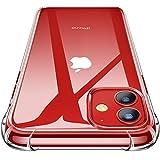 CANSHN iPhone 11 Hülle, Hochwertig Transparent Weiche Durchsichtig Dünn Handyhülle mit TPU Stoßfest Fallschutz Bumper Case Cover für Apple iPhone 11 6.1'' - Clear