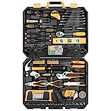 DEKO 168-teilig Premium Universal Werkzeugkoffer - und Haushalts-Werkzeugsets
