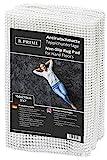 B.PRIME 150x210cm Antirutschmatte Universal I Teppichunterlage I Teppichunterleger I Teppichunterlage I Rutschschutz für Teppich I Teppichstopper