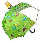 VON LILIENFELD Regenschirm Kinderschirm Stockschirm Kind Junge Mädchen Motiv Autos bis ca. 8 Jahre