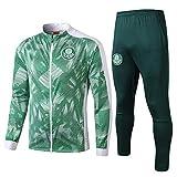 XunZhiYuan Verein Fußball Uniform Anzug Gruppe Wettbewerb Trainingsanzug Full Zipper Pocket-PhotoColor_M