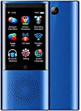 Tragbarer Taschen-Übersetzer, tragbar, intelligenter Sprachübersetzer, 4 G, WiFi, 77 Sprachen, Fotoübersetzer, Touristenlernen, Zwei-Wege-Einheitsgröße, Blau