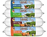 Zoolox MACs Dog Wurst getreidefreie Hundewurst Mix-Paket 800g Größe 4 x 800g