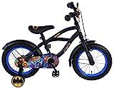 Batman Fahrrad 14 Zoll Kinderfahrrad ab 3 bis 5 Jahre schwarz Jungenfahrrad