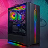GameMachines Onyx - RGB Gaming PC - Wasserkühlung - Intel® Core™ i7 9700F - NVIDIA GeForce RTX 2070 SUPER - 500GB SSD - 2TB Festplatte - 16GB DDR4 - WLAN - Win 10 Pro