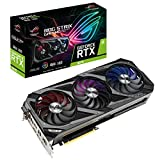 ASUS ROG Strix GeForce RTX 3070 8GB Gaming Grafikkarte (GDDR6 Speicher, PCIe 4.0, 2x HDMI 2.1, 3x DisplayPort 1.4a, 1x USB-C, ROG-STRIX-RTX3070-8G-GAMING)