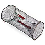 Zite Köderfisch-Reuse Fisch-Reuse Aalreuse Futterbeutel Reißverschluss 30x60cm