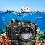 130FT/40M Unterwasser Kamera Tauchen wasserdicht Gehäuse Für Sony a6000 (Gehäuse + Rot Filter)