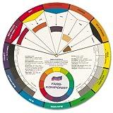 160100 - Farbkomponist groß - Ø 23,5 cm - Zur Bestimmung von Mischfarben und Farbharmonien