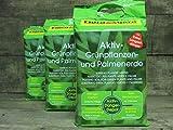 Floragard Aktiv Grünpflanzen & Palmenerde, 60L (3x20L)