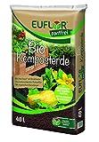 Euflor Bio Komposterde torffrei 40 L Sack, zur Aufbesserung und Anreicherung von Allen gärtnerischen Böden, aus 100% nachwachsenden Rohstoffen