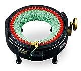 Addi Express-Kingsize 46 Nadeln Strickmaschine, Kunststoff, Schwarz/Rot/Gold, 26 x 15.5 x 25.5 cm