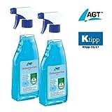 AGT Enteiser: Scheibenenteiser Doppelpack, 2 x 500 ml (Frontscheibenheizung)