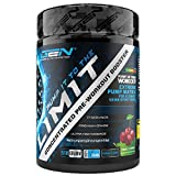 Pump it to the Limit - Pre Workout Booster ohne Koffein - Citrullin + AAKG + Taurin + L-Ornithin + l-Norvalin + Glycerol - Hochdosiert - 510 g Pulver - Triple Cherry Geschmack