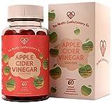 HCC Apfelessig Vitamin Gummies   Apple Cider Vinegar Kapseln   60 Gummibärchen mit Rote Beete Konzentrat, Folsäure & Vitamin B12   GVO & Milchfrei   Hergestellt in ISO Zertifizierten Betrieben