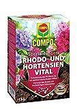 Compo Rhodo- und Hortensien Vital, Spezialdünger zur Reduzierung des pH-Wertes im Boden, 1 kg