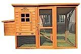 Pets Imperial® - Hühnerstall Monmouth - für bis zu 4 Hühner - innovative Verriegelung mit Laufstall Auslauf und Legenest