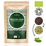 Seedelicious Brokkoli Bio-Sprossen-Samen 1kg- Hohe Keimfähigkeit Brokkolisamen zu Mikrogrüns- Schnell wachsendes hohem Sulforaphan halt Sprossen Superfood für besonders gesunde Ernährung
