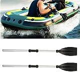 ATopoler Doppelpaddel Aluminiumlegierung Paddel Kayak Paddel Bootzubehör Universalpaddel für Kanusport Kajakfahren Kanadier Boot Ruderboot