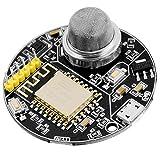 AZDelivery AZ-Envy Wlan ESP8266-12F Umwelt Entwicklungsboard mit Feuchtigkeits- und Luftqualitätssensor (MQ-2 und SHT30) kompatibel mit Arduino inklusive E-Book!